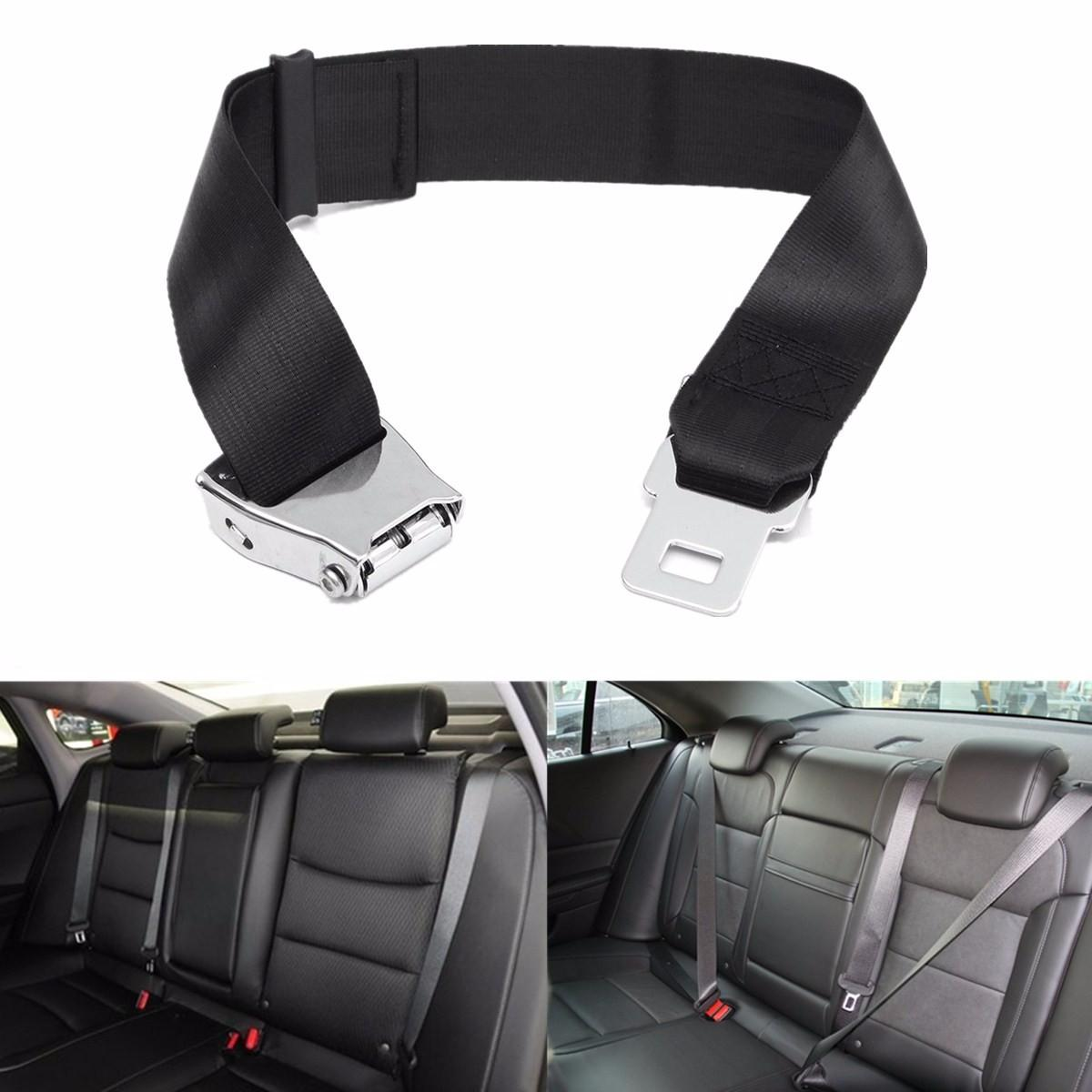 2018 Adjustable Black Airplane Seat Belt Extension Extender Buckle Aircraft Extended High Strength Polyester Webbing From Zwell Co Ltd