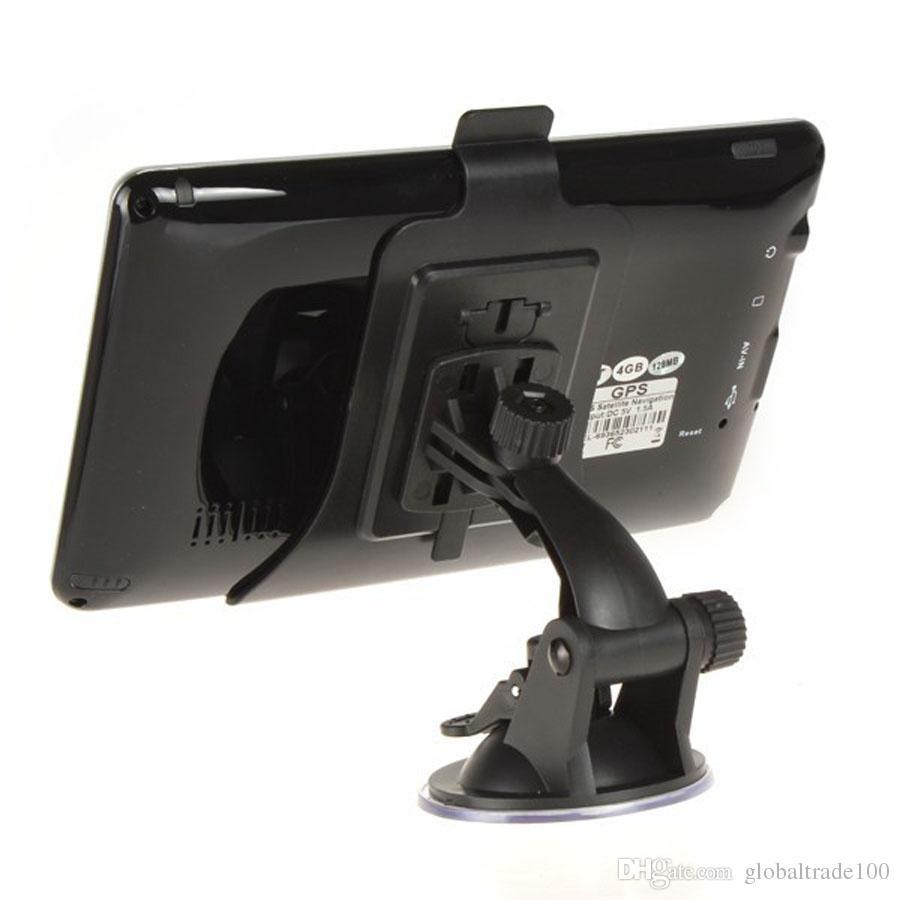 7 polegada Navegação GPS Do Veículo Veículo Navegador MTK 256 MB 4 GB / 8 GB Com Bluetooth AV FM 703 CE Melhor Qualidade