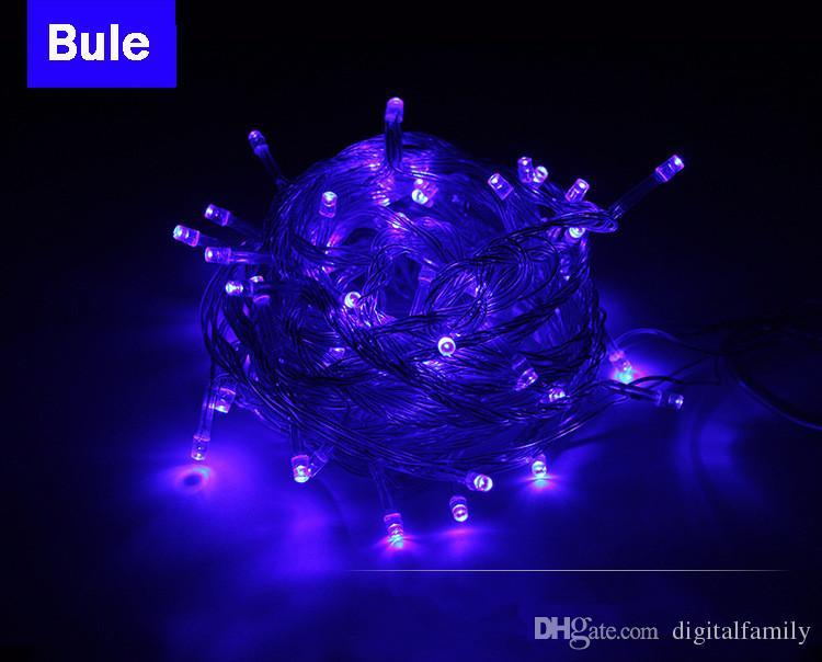 Merry Christmas crazy selling 10M 100 LED string Decoration Light 110V 220V For Party Wedding led christmas twinkle lighting