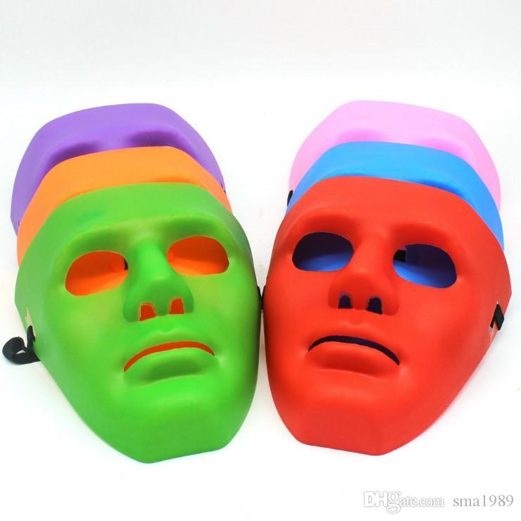 Men\'S Womens Mask Halloween Costumes Hip Hop Dance Face Mask Ghost ...