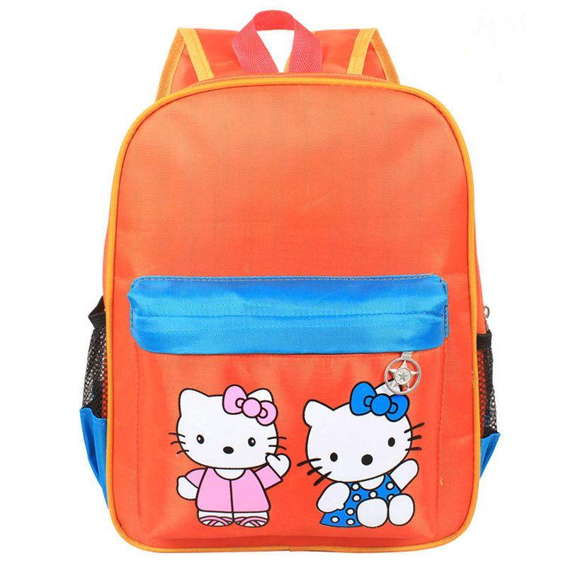 Cute Cartoon Baby Child Zoo Backpack Bags Kids Tavelling Satchel ...
