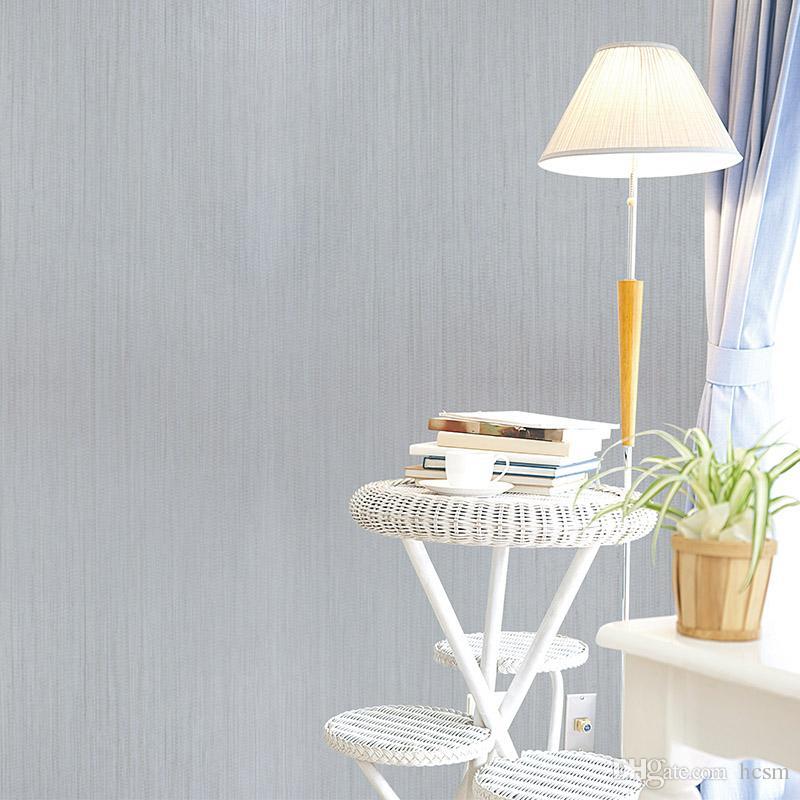 Solid Color Irregular Fringe Modern Plain Simple Wallpaper