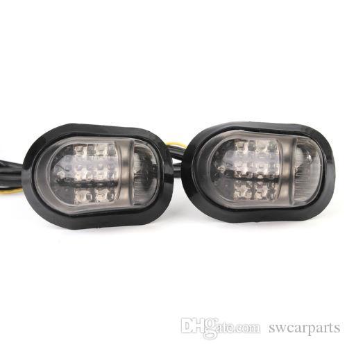 Lampe de clignotant de clignotant de clignotant de la lampe de clignotant de la moto 12V 9
