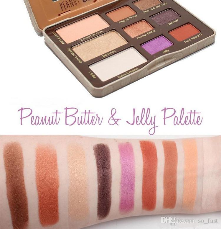 New Arrival Makeup Faced Peanut Butter & Jelly Palette Eye Shadow Palette eyeshadow palette DHL shipping