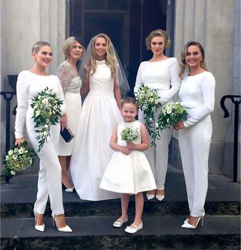 Jumpsuit Bridesmaid Dress