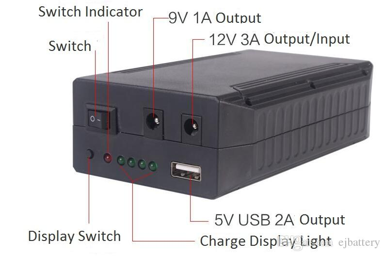 97w 12v Portable Lithium Ion Backup Rechargeable Battery