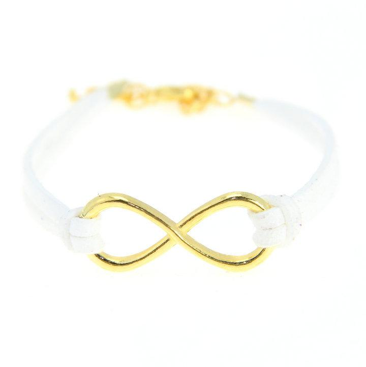 Antique Glod Tone Handmade Korean Velvet Infinity Bracelets new Hot Sales Fashion Personalized Jewelry
