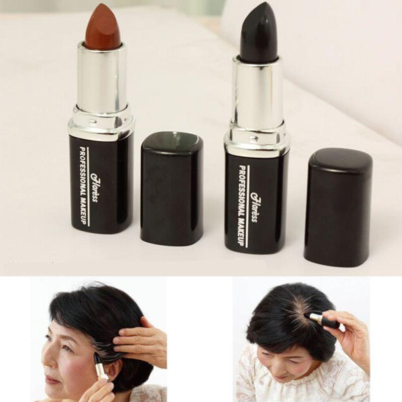 Temporary Hair Dye Black White Hair Brand Hair Color Chalk Crayons