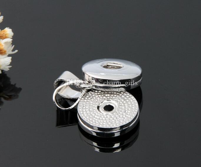 Ventes chaudes NOOSA Longue Presse Noosa Chunks Collier Pendentif Bouton Snap Noosa Pendentif Colliers pour Femmes DIY Noosa Bijoux