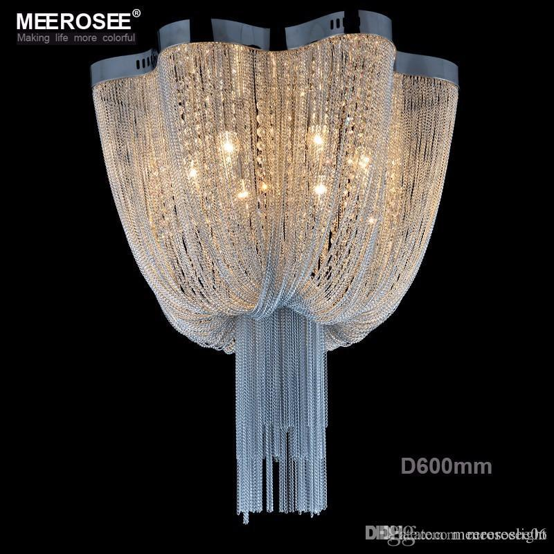 French Chain Chandelier Light Fixture Empire Vintage Hanging Suspension Re Lamp Fitting Parts Brass From Meerosee06