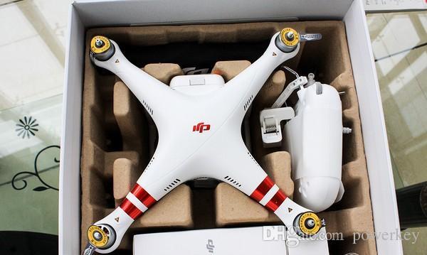 100% original Dji Phantom 3 alta calidad FPV cámara Drone RC Helicóptero con 2.7K cámara HD y 3 ejes cardán