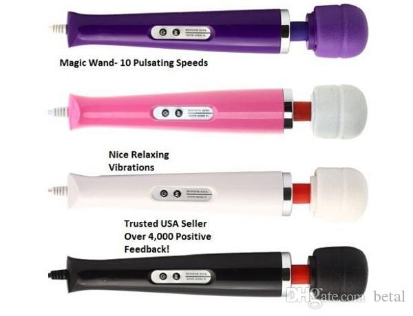 Hot Slae Magic Wand Massager Handheld Vibrant Massage Moteur Complet Du Corps Thérapie Thérapie 10 Vitesse