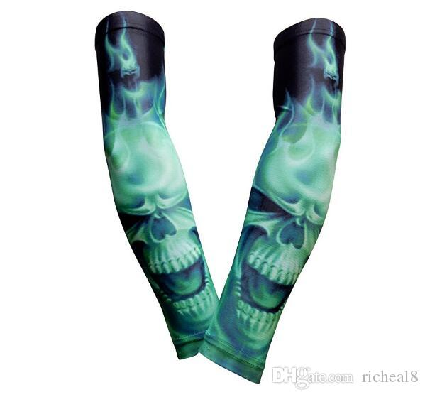 Neue Marke Ein Paar Sport basketball Arm pads Sicherheit Ellbogenschützer Einfarbig Arm Unterstützung Kalb Kompression arm sleeves Sport Protector