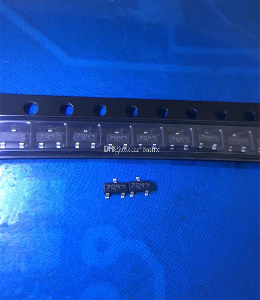 Trasporto all'ingrosso-Libero 50 lotto pezzi 7002 2V7002 2V7002KT1G SOT23 parte elettronica in magazzino nuovo e originale ic