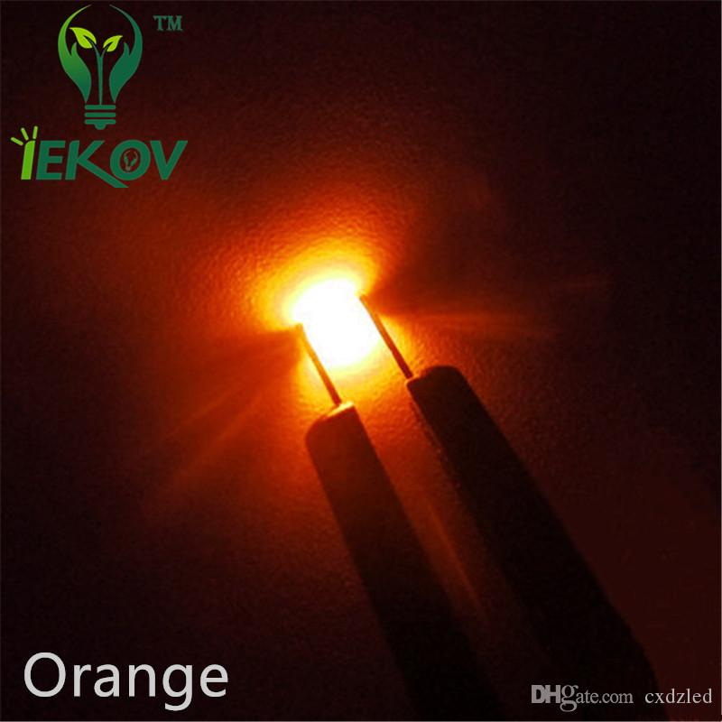 0805 SMD Orange/Amber LED Super Bright Light Diode High Quality SMT Chip lamp beads Suitable for DIY bicycle and Car
