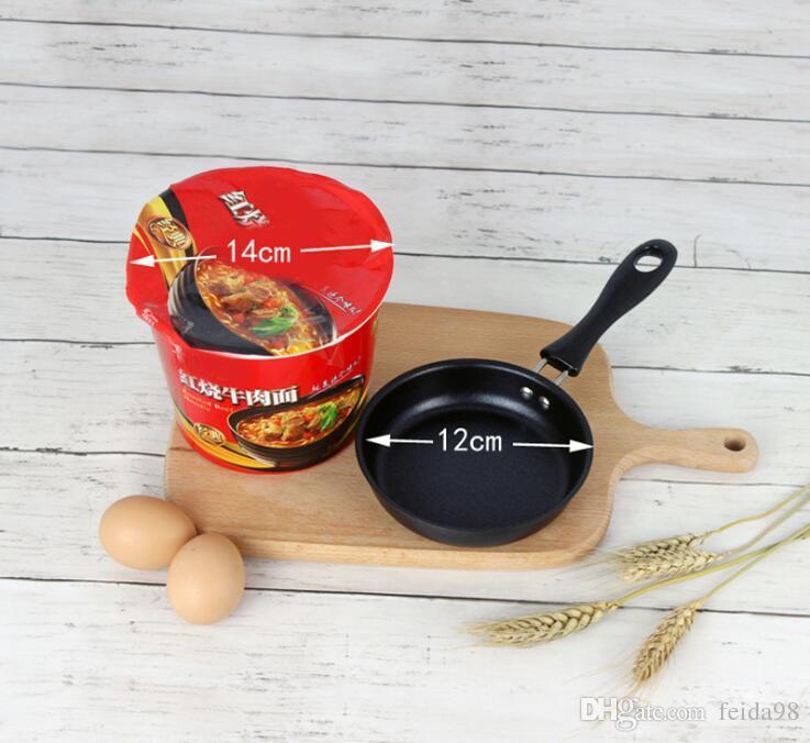 12 CM Nützliche Nette Omelett Frühstück Mini Topf Pancake Ei Pfanne Nicht-Stick Topf Mini Kochgeschirr Küche G1202