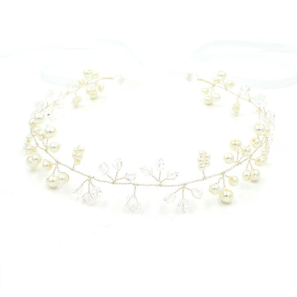 Кристалл жемчуг очаровательные головные уборы для девочек золото и щепка цвета на продажу свадебные украшения для волос свадебные аксессуары