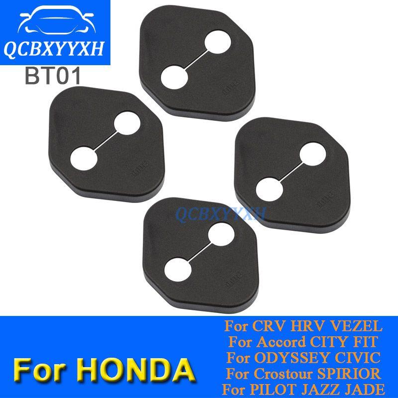 자동차 도어 잠금 보호 커버 Honda CRV vezel HRV Accord City Fit Civic Jade Jazz 자동차 도어 잠금 장식 자동 커버