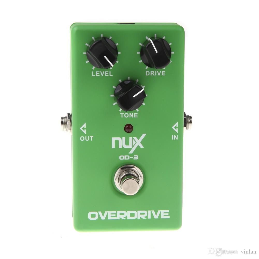 Original Product NUX OD-3 Overdrive Electric Guitar Effect Pedal Ture Bypass Green High Quality Guitar Effect Pedal guitar parts accessories