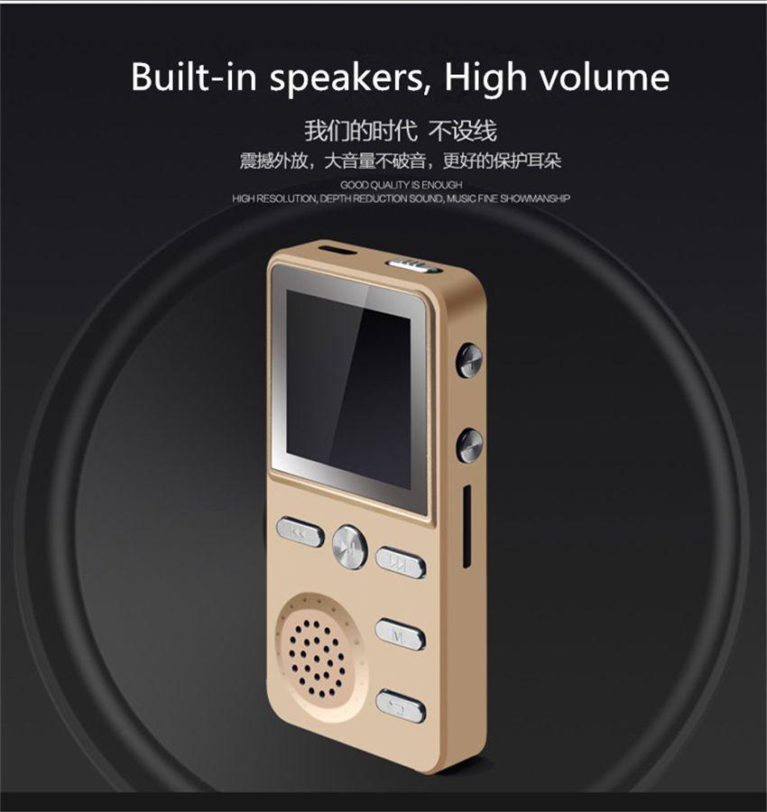 New 16GB High Quality Hifi Mp4 Music Player HD TFT Screen Nondestructive Mp3 Player Support FM E-Book Voice Recorder Walkman Mp3 Player
