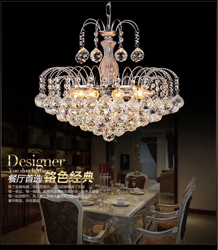 Luxus Kristall Kronleuchter Lampe E14 Moderne Glas Kronleuchter Lichter  Hängenden LED Pendelleuchte Schlafzimmer Dekoration Esszimmer