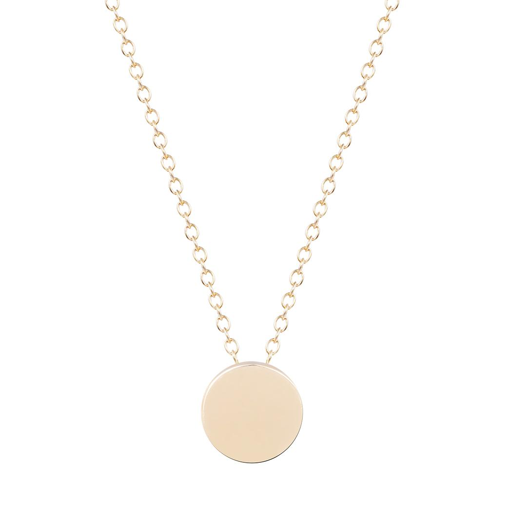 circle pendant lluukk round necklace img products