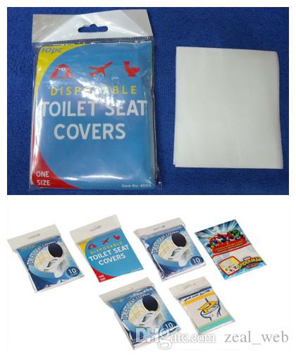CHEAPEST!!! Disposable Toilet Seat Cover Mat eco-friendly paper Toilet  Paper Pad For Travel/Camping Bathroom Accessiories