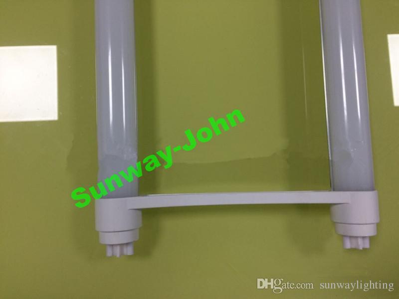 En forme de U T8 Tube LED 18W 22W 2ft lampe tubes en forme de U SMD 2835 LED haute G13 lumineux ampoules fluorescentes AC85-265V