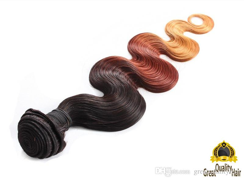 2016 Clearance Sale Ombre Hair Unprocessed Brazilian Body Wave Peruvian Indian Malaysian Human Hair Extensions