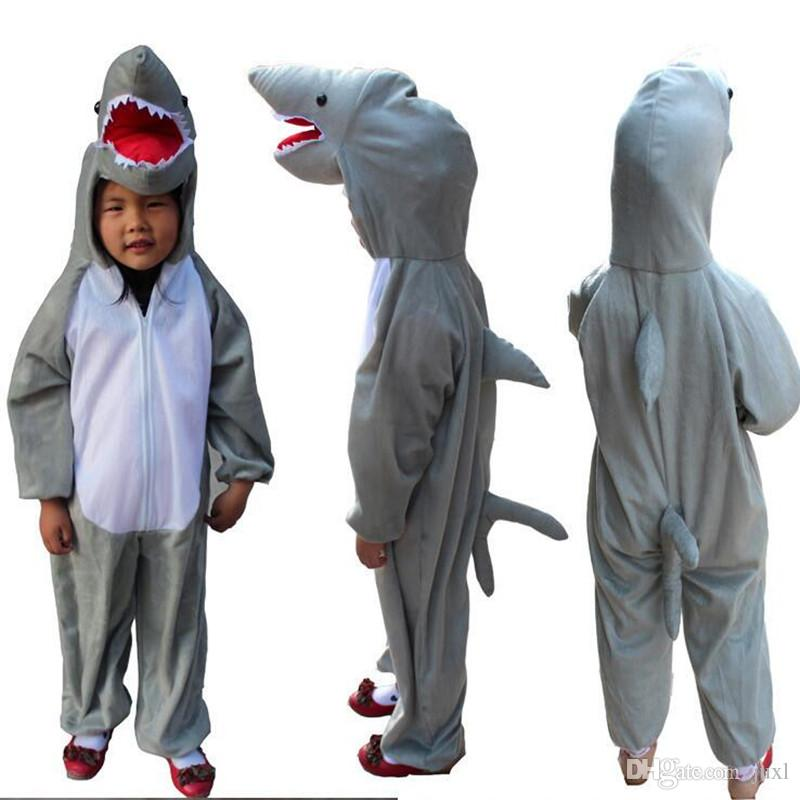 الفتيان الفتيات الكرتون الحيوان القرش حلي تأثيري للأطفال أطفال تأثيري حللا هالوين تنكرية ديكور