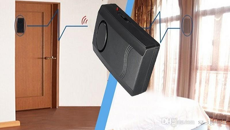 DC90V 120db Vibration Alarm Security Entry Alarm Door Alarm Window Alarm Anti-theft Alarm Anti-burglar Alarm System