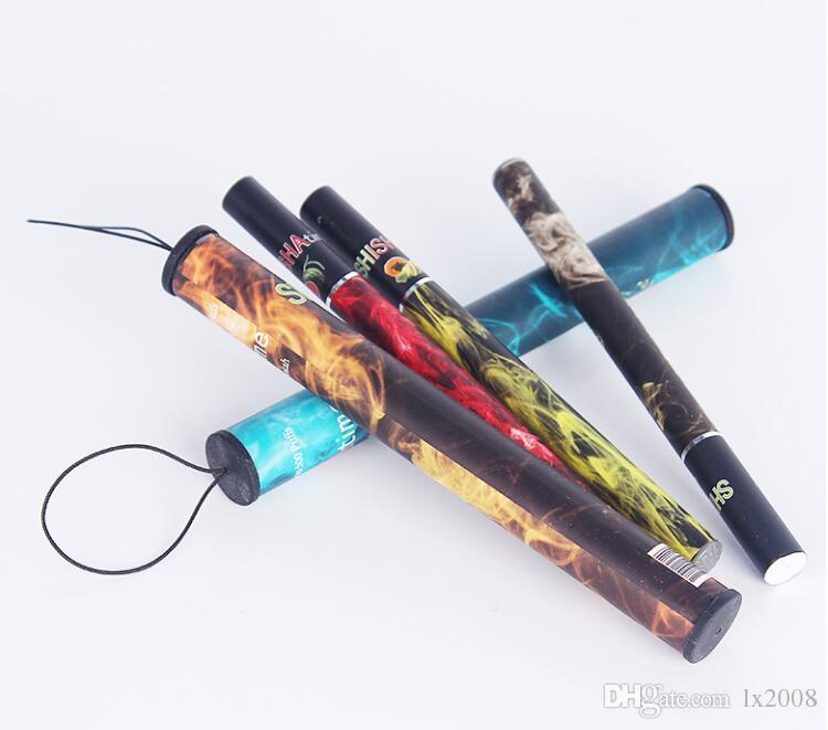 E ShiSha Narghilè Penna Sigaretta Elettronica Pipe Sigaretta Sigaro Succo di Frutta E Cig Stick Shisha Tempo 500 Soffi Colorati 35 Sapore Hot