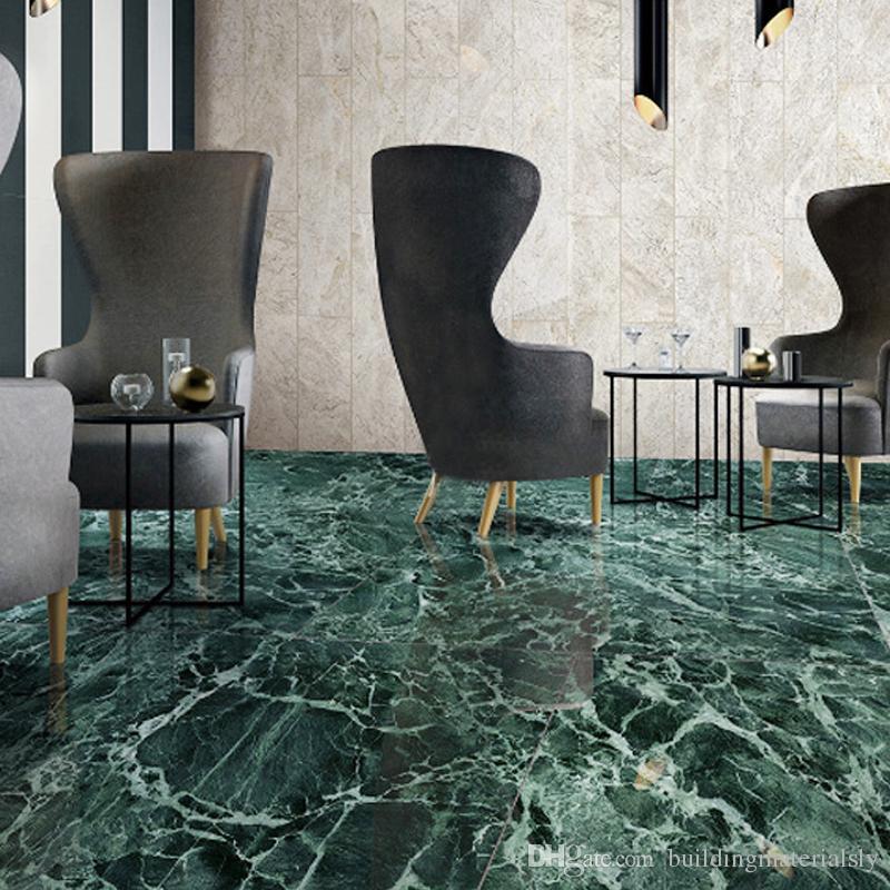Non Slip Bathroom Floor Tiles India: 2019 Marble Tiles Alpine Green Indoor Living Room