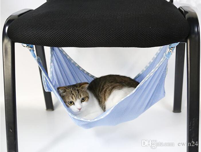 Doux Confort Été Maille Hamac Sommeil Sommeil Temps Sauvage Drôle Cage Pad Coussin Tapis pour Chat Chaton