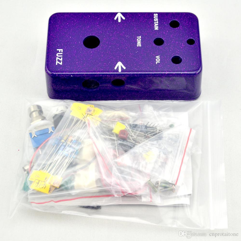 Compre Construye Tu Kit De Caja Bricolaje Fuzz Face Pedal Diy Box A 201 Del Cnprotaitone Dhgatecom
