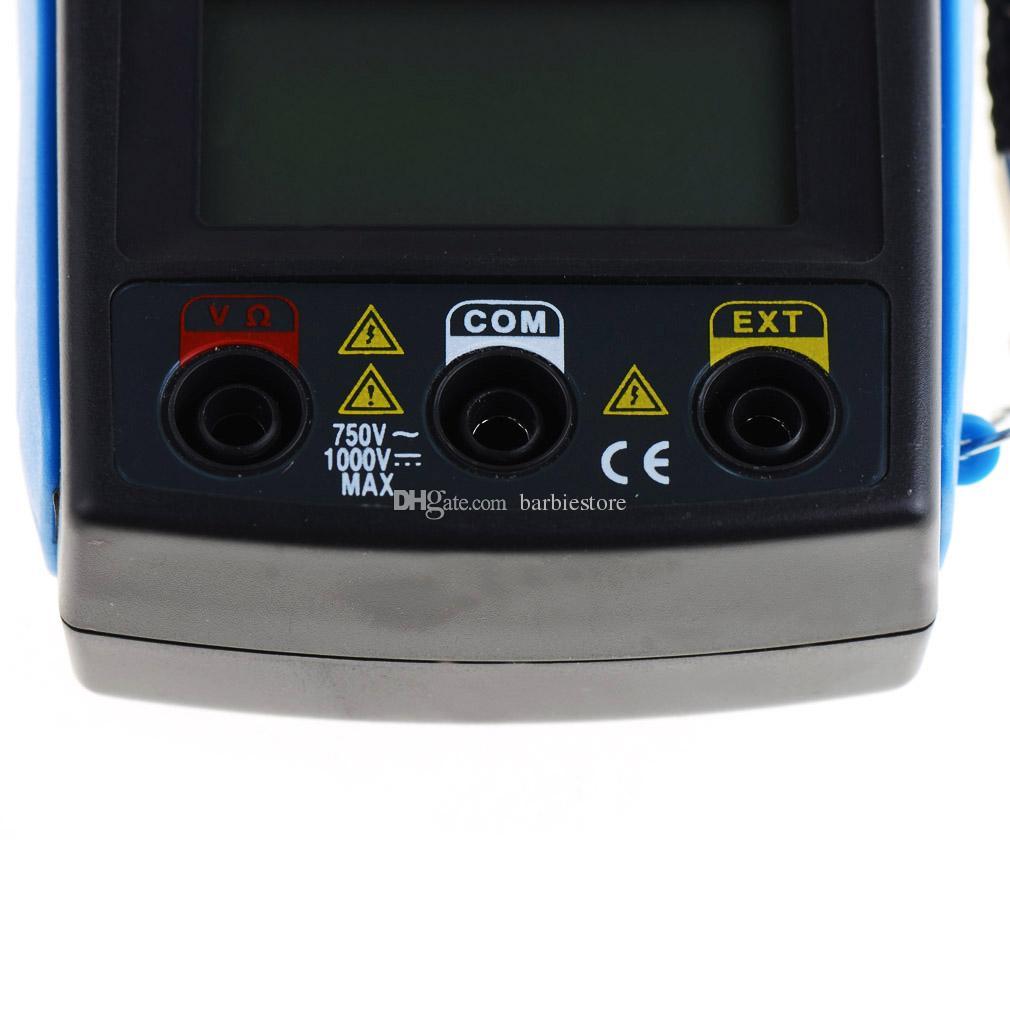 Multímetro digital multímetro digital DM6266 AmVolt Ohm Meter Aislamiento Prueba B00353