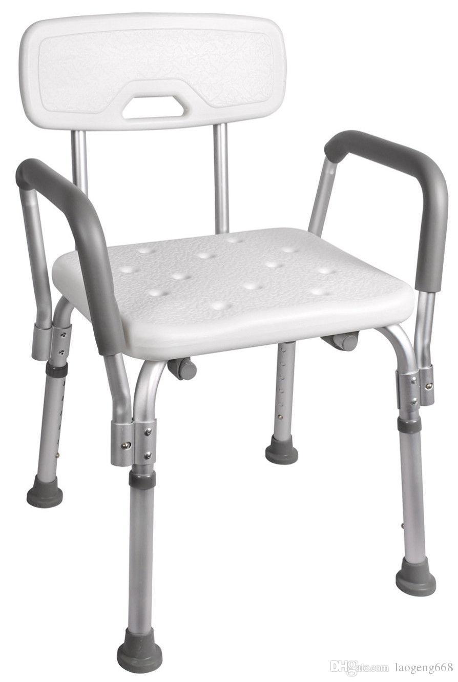 Exceptionnel 2018 Medical Shower Chair Bathtub Stool Bench Bath Seat W/ Adjustable Legs  U0026 Armrest From Laogeng668, $24.81 | Dhgate.Com