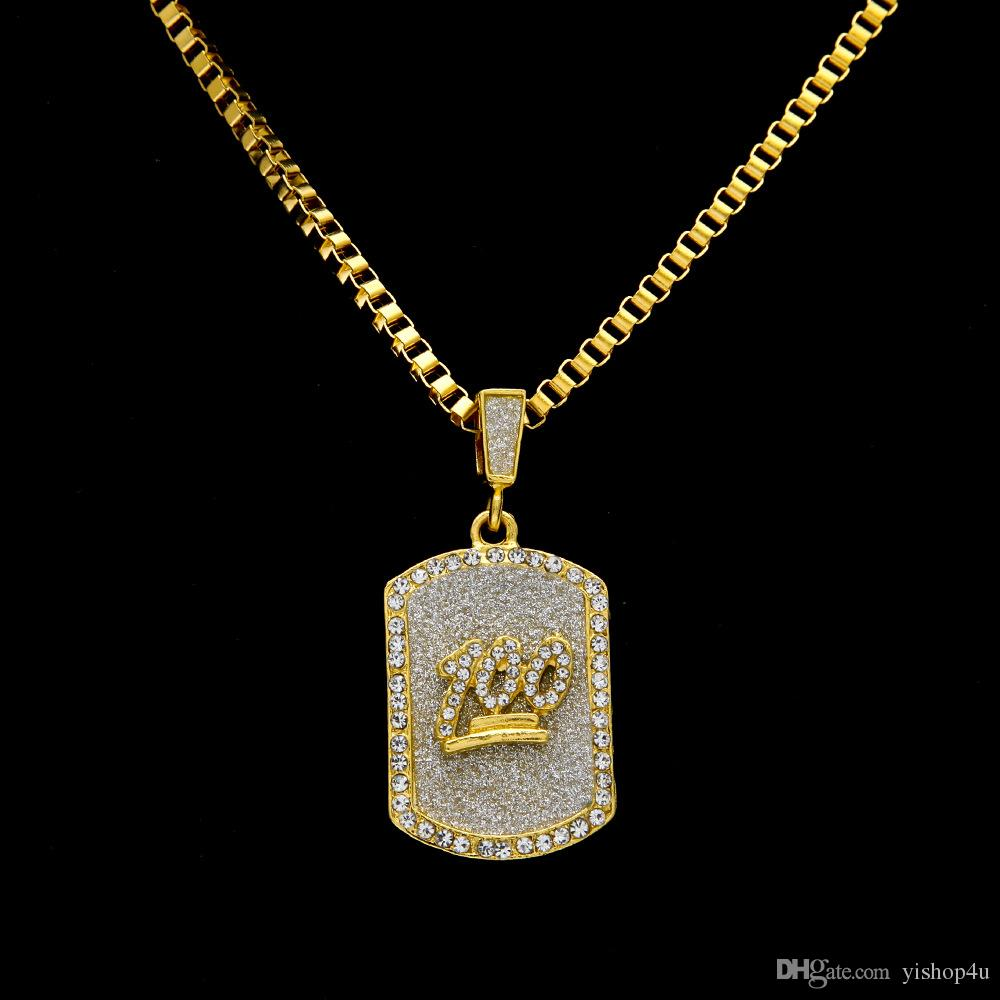 Wholesale Mens Hip Hop Gold Plated Jesus 100 Iced Out Cz Crystal Dog