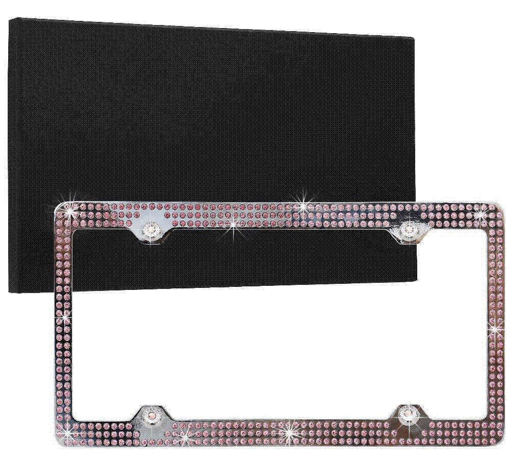 2018 Bling Stainless Steel License Plate Frame For Auto Car Truck ...
