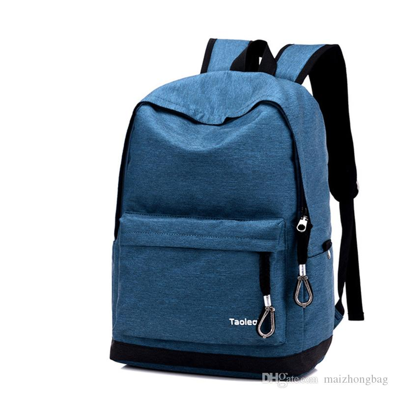 High School Bags Canvas Material High Quality Designer Backpack ... cd987685a5f7d