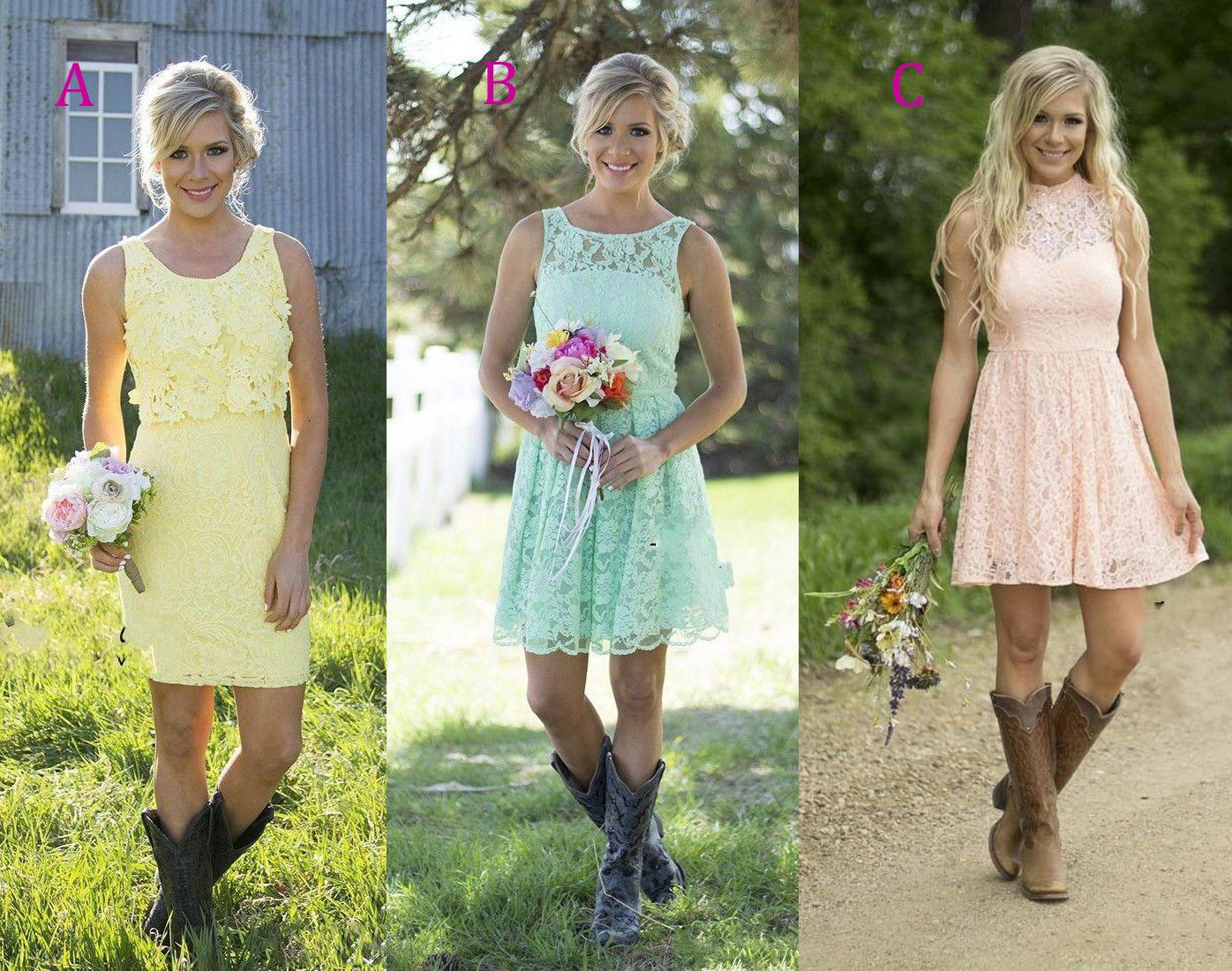 Country girl bridesmaid dresses images braidsmaid dress country style short bridesmaids dresses 2016 summer full lace country style short bridesmaids dresses 2016 summer ombrellifo Choice Image