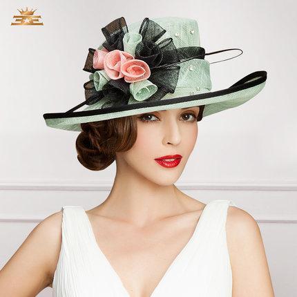 Cappelli da donna Cappelli da donna Cappelli da donna Derby Cappelli in raso 100% poliestere Due colori disponibili