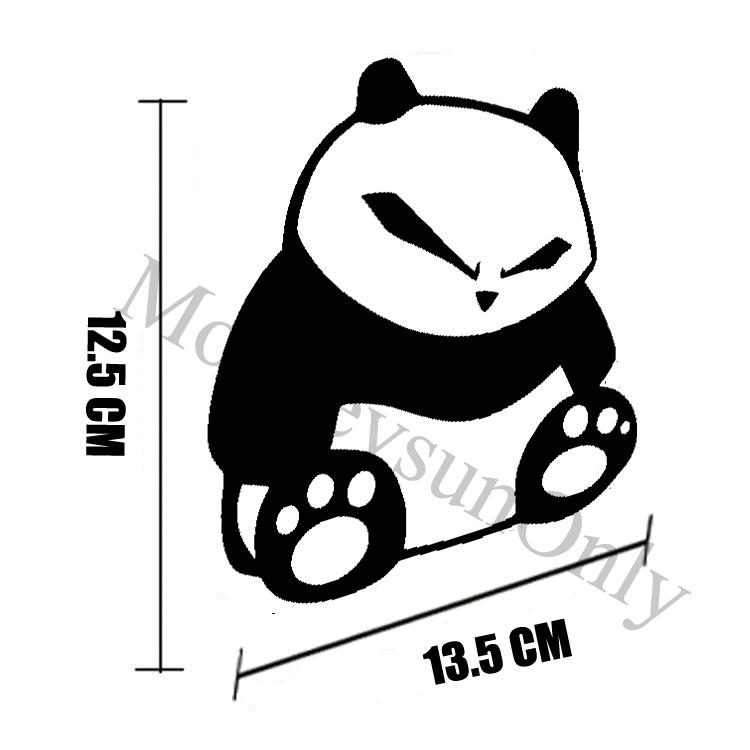 Sticker Kit Car Sticker Jdm Dub Sitting Panda Motorcycle Waterproof