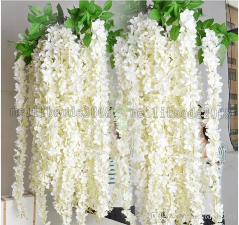 1.6m Long Wedding Centerpieces Home Party Decorative Flowers Garland Craft Ornament For Wedding with Party Decorations MYY