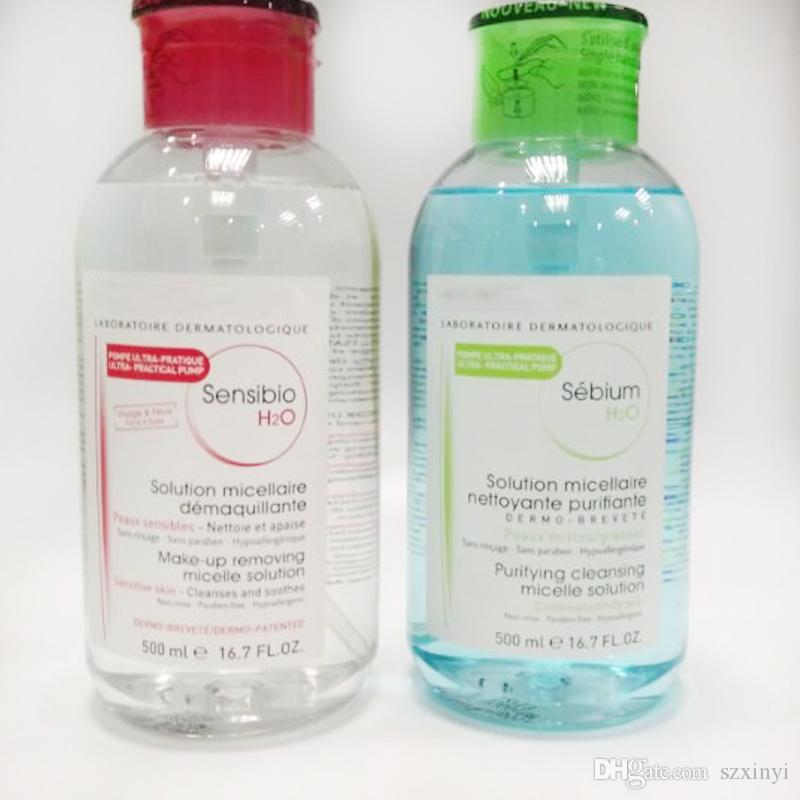 2017 أحدث bioerma laboratoire dermatologique sensibio / sebium H2O ماكياج مزيل التطهير المياه