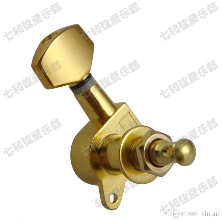 6R Electric Guitar strings button Tuning Pegs Keys tuner Machine Heads Guitar Parts Musical instruments accessories