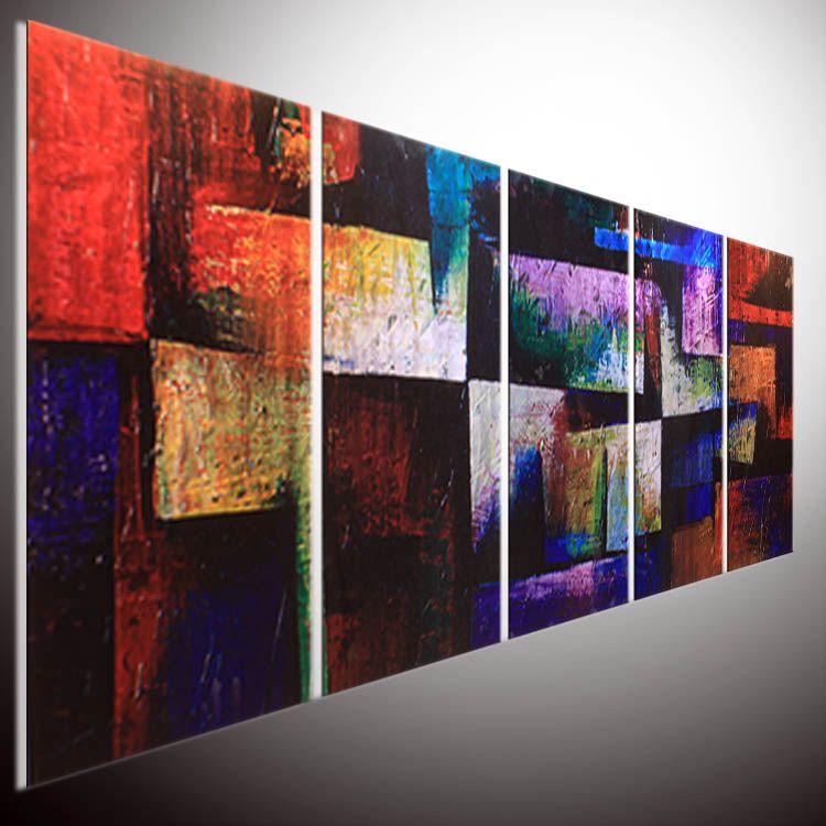 Acheter Peinture Contemporaine Abstraite Art Mural Abstrait Peinture