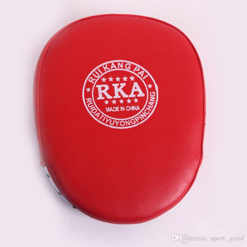 Moda Boks Mitt Eğitim Hedef Odak Punch Pedleri Eldiven MMA Karate Savaş Tay Kick PU Köpük Malzeme Boks Koruyucu Dişli