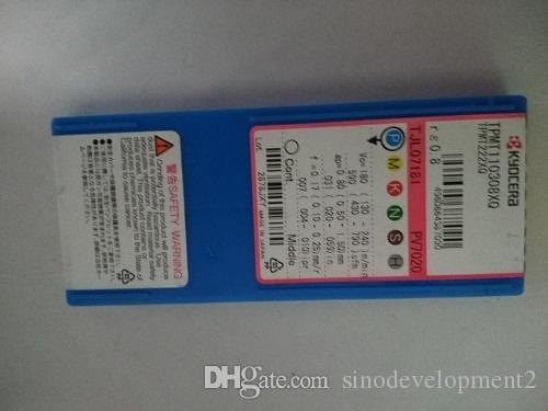 10 STÜCKE KYOCER CARBIDE INSERT TPMT110308XQ PV7020