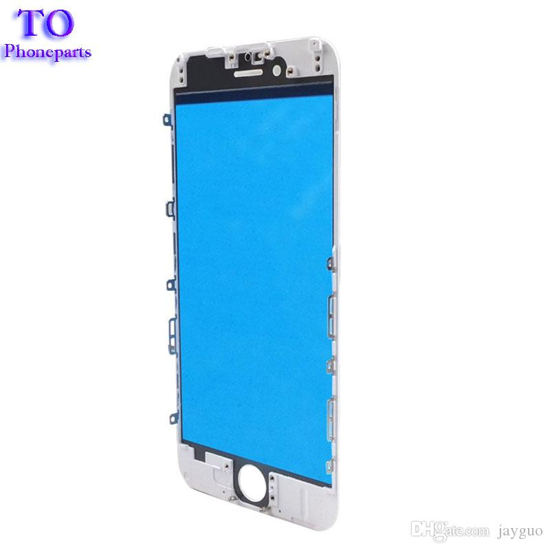 Pannello frontale touch screen Obiettivo esterno in vetro con schermo a cornice centrale schermo a freddo iPhone 5s 6 6s plus 7 plus